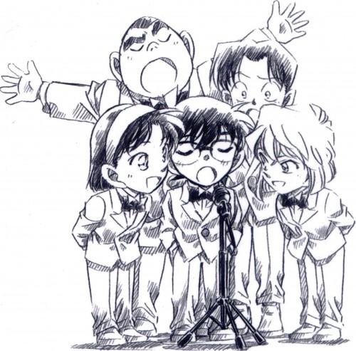Gosho Aoyama, TMS Entertainment, Detective Conan, Mitsuhiko Tsuburaya, Genta Kojima