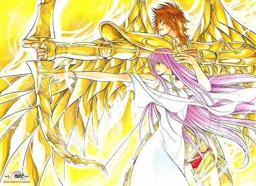 Shiori Teshirogi, TMS Entertainment, Saint Seiya: The Lost Canvas, Sasha, Sagittarius Sysiphus