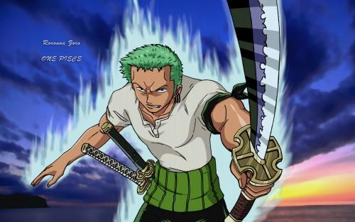 Eiichiro Oda, One Piece, Roronoa Zoro, Member Art Wallpaper