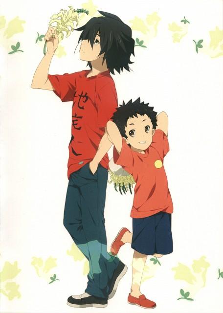 Makoto Mizuki, A-1 Pictures, AnoHana, AnoHana Unofficial Fan Book, Jinta Yadomi