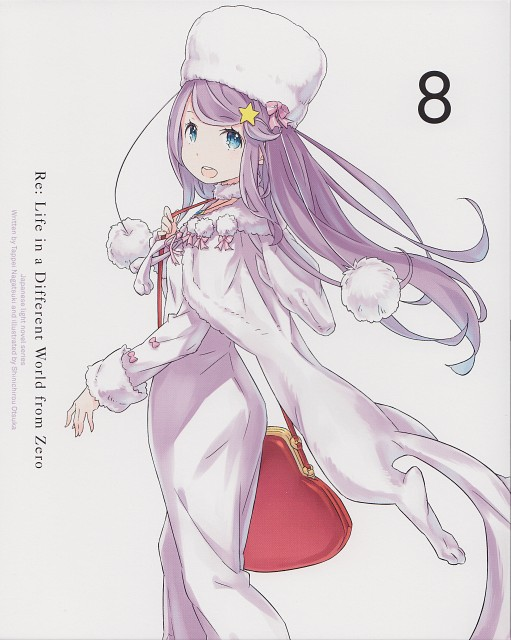 Shinichiro Otsuka, White Fox, Re:Zero, Anastasia Hoshin, DVD Cover