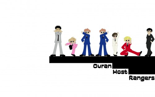 Hatori Bisco, BONES, Ouran High School Host Club, Kyoya Ootori, Hikaru Hitachiin Wallpaper
