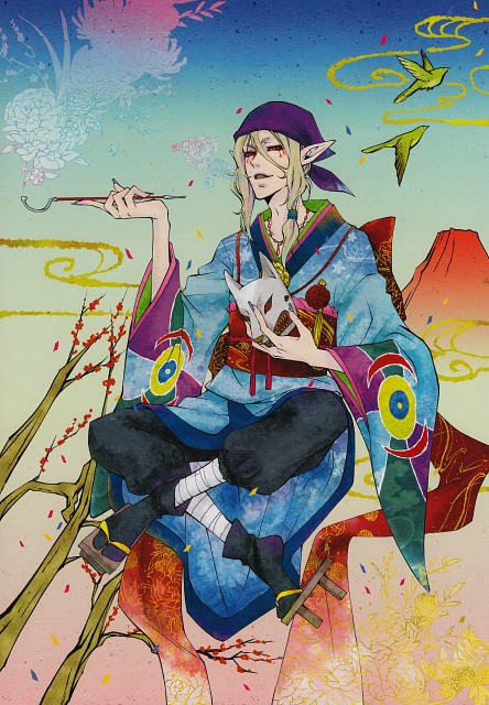 Yana Toboso, Toei Animation, Mononoke, Black Butler Artworks 1, Kusuriuri