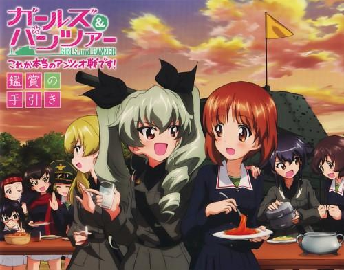 Actas, GIRLS und PANZER, Miho Nishizumi, Yukari Akiyama, Riko Matsumoto