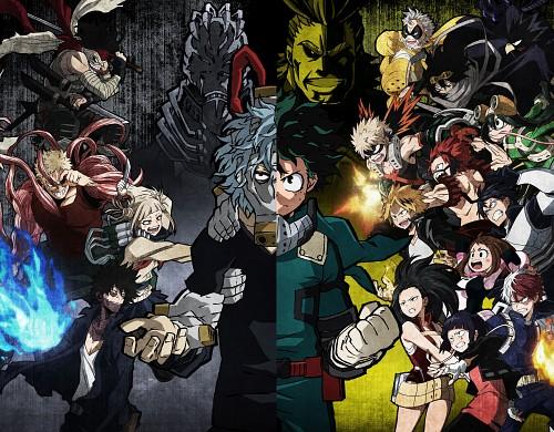 Kouhei Horikoshi, BONES, Boku no Hero Academia, Momo Yaoyorozu, Toshinori Yagi