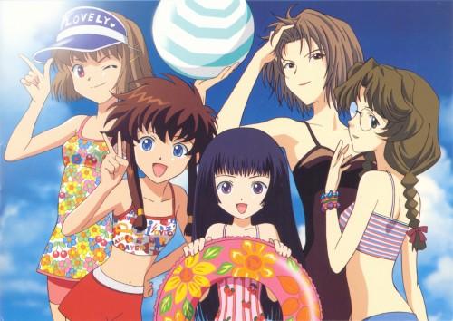 CLAMP, Angelic Layer, Kaede Saito, Sai Jounouchi, Misaki Suzuhara