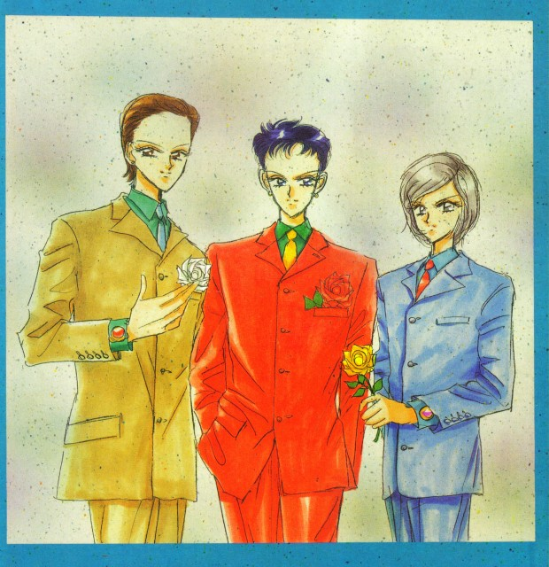 Naoko Takeuchi, Bishoujo Senshi Sailor Moon, BSSM Original Picture Collection Vol. V, Yaten Kou, Taiki Kou