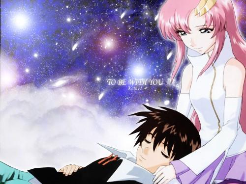 Sunrise (Studio), Mobile Suit Gundam SEED, Lacus Clyne, Kira Yamato Wallpaper