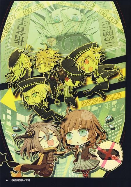 Mai Hanamura, Brains Base, Idea Factory, AMNESIA Crowd Official Visual Fan Book, AMNESIA