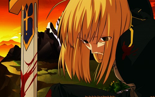 TYPE-MOON, Ufotable, Fate/Zero, Saber Wallpaper