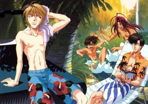 Kazuya Minekura, Studio Pierrot, Saiyuki, Son Goku (Saiyuki), Genjyo Sanzo