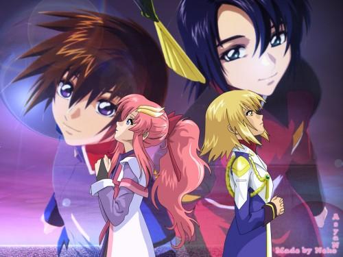 Sunrise (Studio), Mobile Suit Gundam SEED Destiny, Kira Yamato, Athrun Zala, Lacus Clyne Wallpaper