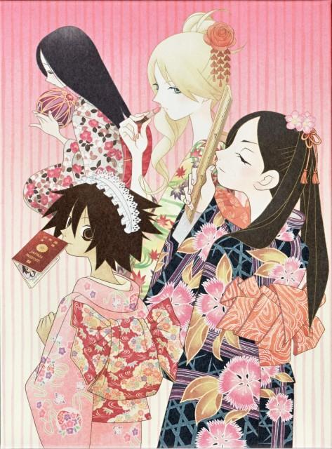 Shaft (Studio), Sayonara Zetsubou Sensei, Tarou Sekiutsu, Kaere Kimura, Kiri Komori