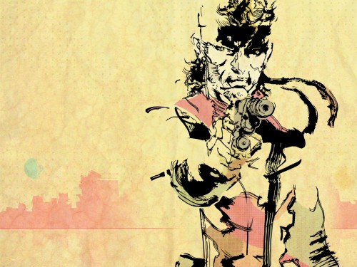 Konami, Metal Gear Solid, Solid Snake Wallpaper