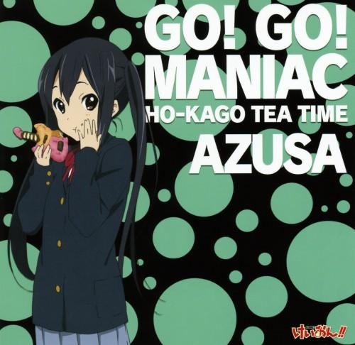 Kakifly, Kyoto Animation, K-On!, Azusa Nakano, Album Cover