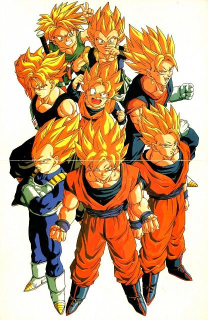 Akira Toriyama, Toei Animation, Dragon Ball, Super Saiyan Vegeta, Vegito
