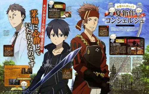 Yousuke Okuda, A-1 Pictures, Sword Art Online, Kazuto Kirigaya, Ryotaro Tsuboi