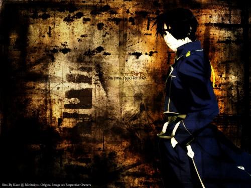 Hiromu Arakawa, BONES, Fullmetal Alchemist, Roy Mustang Wallpaper