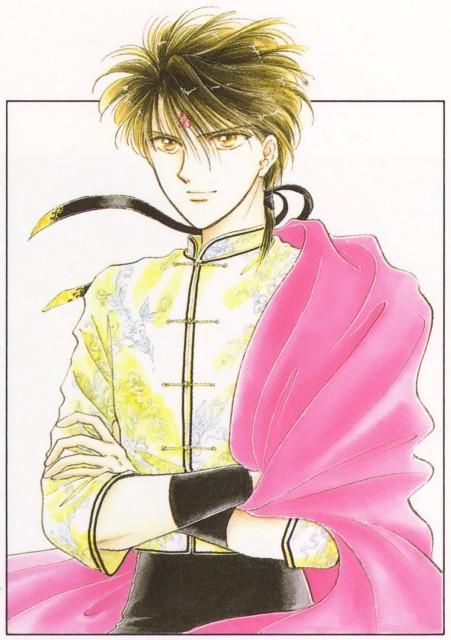 Yuu Watase, Fushigi Yuugi, Watase Yuu Illustration Collection: Fushigi Yuugi, Tamahome