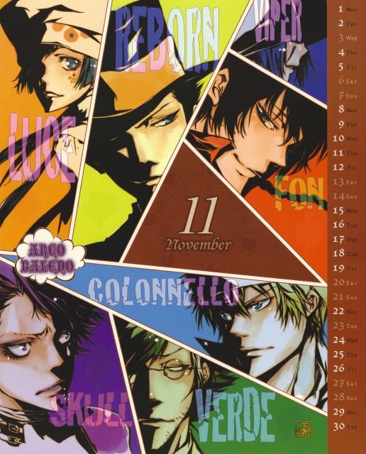 Akira Amano, Artland, Katekyo Hitman Reborn!, Fon, Reborn (Character)