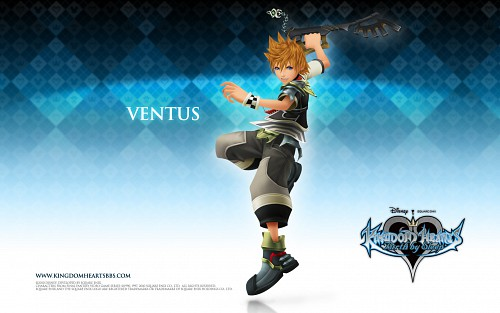 Square Enix, Kingdom Hearts, Ventus, Official Wallpaper