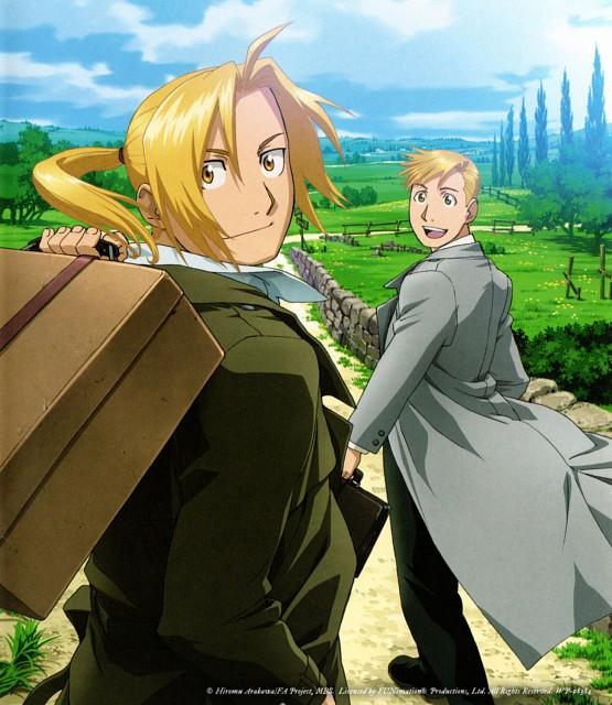 BONES, Fullmetal Alchemist, Alphonse Elric, Edward Elric