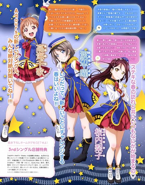 Murota Yuuhei, Sunrise (Studio), Love Live! Sunshine!!, Dengeki G's Magazine