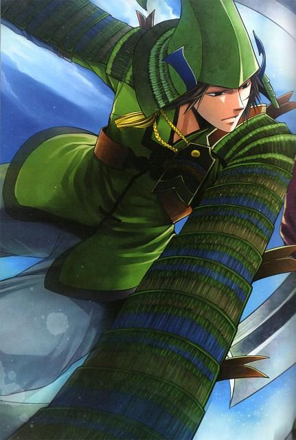 Sou Kirishima, Production I.G, Capcom, Sengoku Basara Dengeki Visual & Sound Book, Sengoku Basara