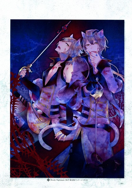 Kuroyuki, Rejet, Idea Factory, Bloody Nightmare & Last Hope Official Fan Book, Black Wolves Saga