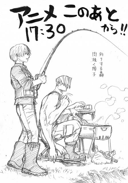 Kouhei Horikoshi, BONES, Boku no Hero Academia, Mezou Shouji, Shouto Todoroki