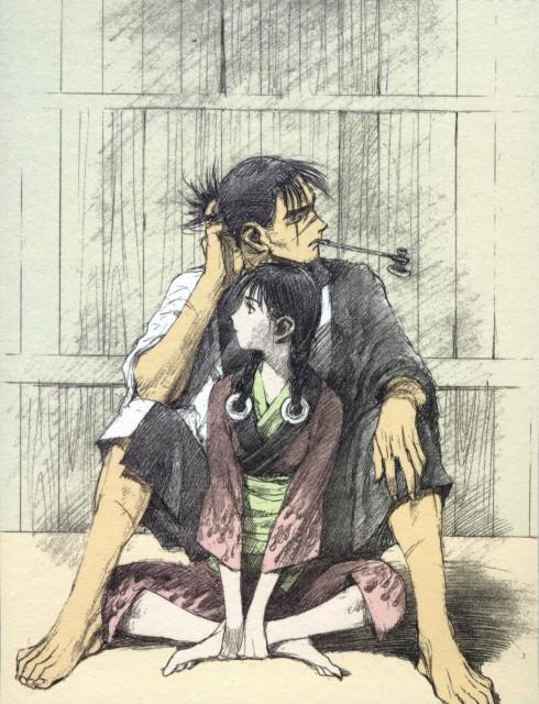 Hiroaki Samura, Blade of the Immortal, Rin Asano, Manji