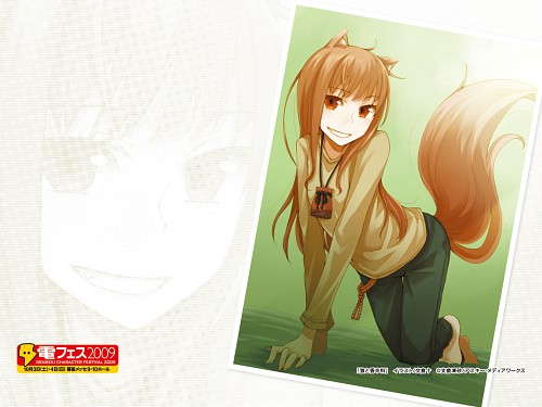 Juu Ayakura, Spice and Wolf, Horo, Official Wallpaper