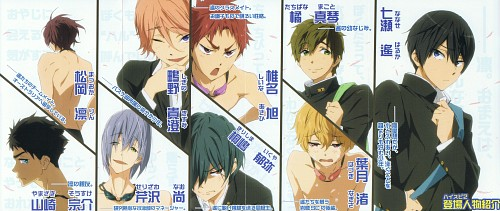 Futoshi Nishiya, Kyoto Animation, Free!, Rin Matsuoka, Asahi Shiina