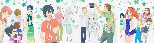 A-1 Pictures, AnoHana, Chiriko Tsurumi, Jinta Yadomi, Tetsudou Hisakawa
