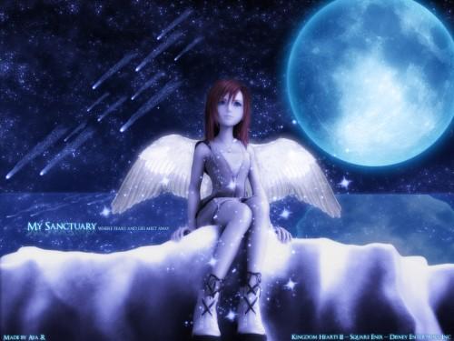Square Enix, Kingdom Hearts, Kairi Wallpaper