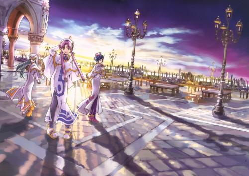 Kozue Amano, Aria, Cielo – Kozue Amano Illustration Works 3, Aria Premium Poster Book, Akari Mizunashi