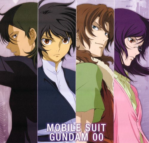Sunrise (Studio), Mobile Suit Gundam 00, Setsuna F. Seiei, Allelujah Haptism, Tieria Erde
