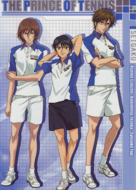 Takeshi Konomi, J.C. Staff, Prince of Tennis, Ryoma Echizen, Kunimitsu Tezuka