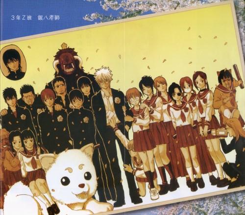 Hideaki Sorachi, Gintama, Kagura, Kyubei Yagyu, Ane