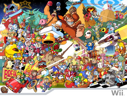 Nintendo, Sega, Donkey Kong, Super Mario, Kirby