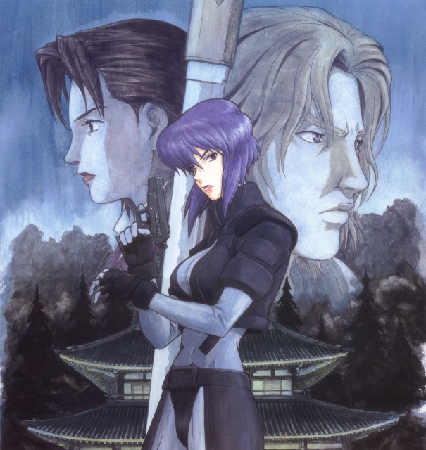 Masamune Shirow, Ghost in the Shell, Yoko Kayabuki, Hideo Kuze, Motoko Kusanagi