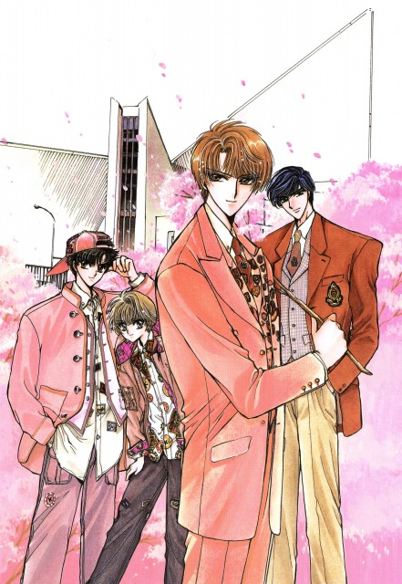 CLAMP, Soryuden, Soryuden Original Illustrations, Amaru Ryudou, Tsuzuku Ryudou