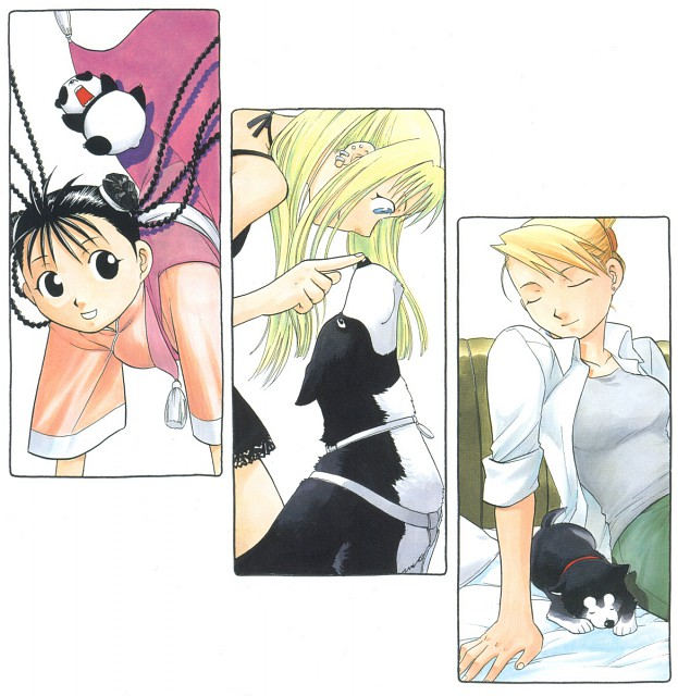 Hiromu Arakawa, Fullmetal Alchemist, Fullmetal Alchemist Artbook Vol. 2, May Chang, Riza Hawkeye