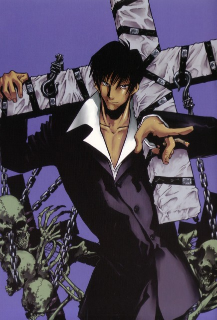 Yasuhiro Nightow, Madhouse, Trigun, The Collected Paintings Mini Book of Trigun Maximum, Nicolas D. Wolfwood