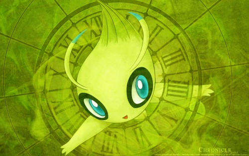 Nintendo, Pokémon, Celebi Wallpaper