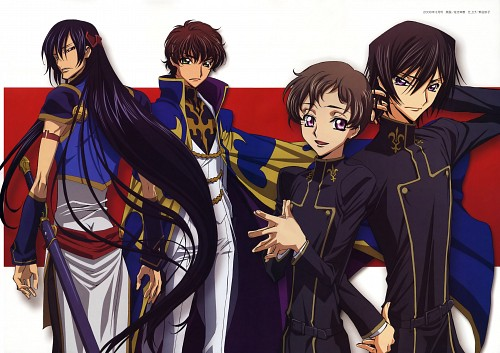 Takahiro Kimura, Yukie Sakou, Sunrise (Studio), Lelouch of the Rebellion, Code Geass R2 Perfect Turn Fan Book