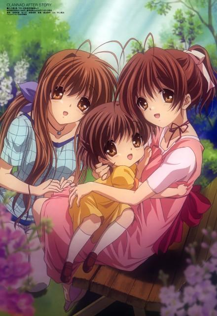 Kyoto Animation, Clannad, Sanae Furukawa, Ushio Okazaki, Nagisa Furukawa