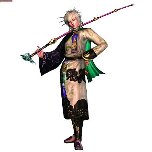 Koei, Warriors Orochi, Taigong Wang, Official Digital Art