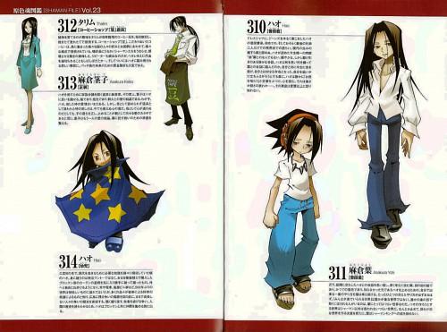 Hiroyuki Takei, Xebec, Shaman King, Hao Asakura, Yoh Asakura