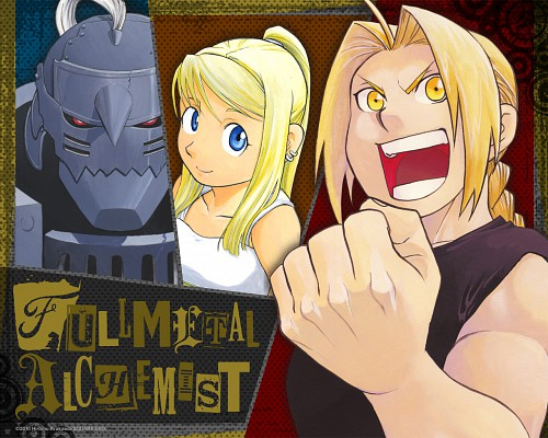 Hiromu Arakawa, Fullmetal Alchemist, Alphonse Elric, Edward Elric, Winry Rockbell